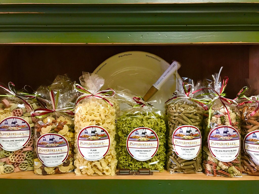 Artisanal Pastas from Dash of Thyme in Denville, NJ