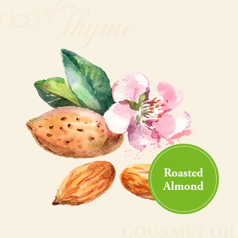 Dash of Thyme—Gourmet Roasted Almond Oil