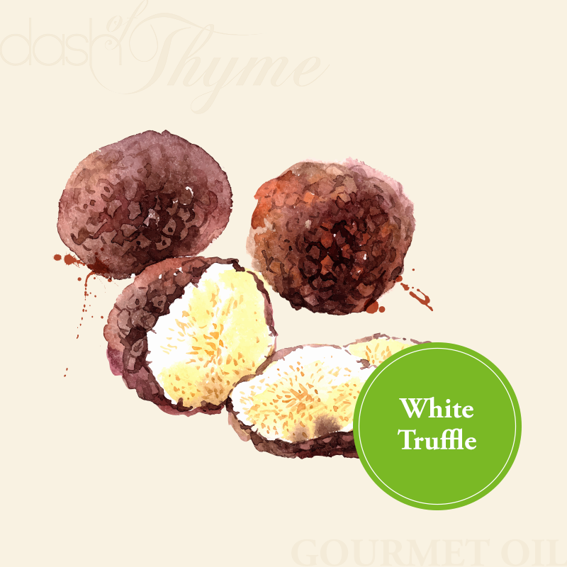 Dash of Thyme—Gourmet White Truffle Olive Oil
