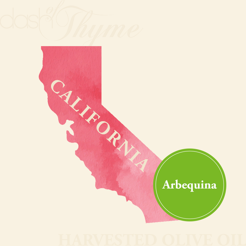 Dash of Thyme—California Arbequina Extra Virgin Olive Oil