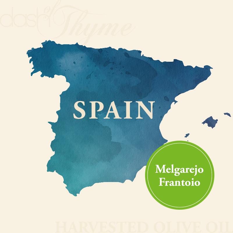 Dash of Thyme—Spain Melgarejo Frantoio Extra Virgin Olive Oil