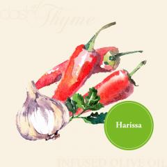 Harissa Infused Extra Virgin Olive Oil