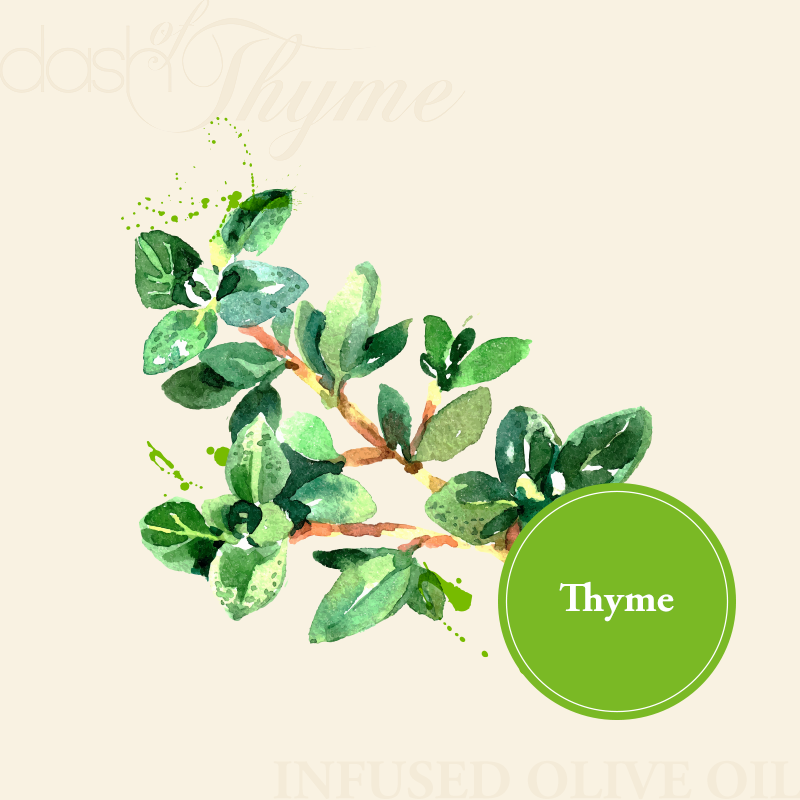 Dash of Thyme—Thyme Infused Olive Oil