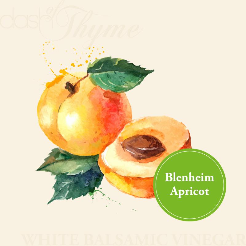 Dash of Thyme—Blenheim Apricot White Balsamic Vinegar