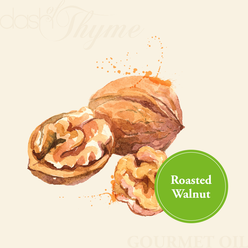 Dash of Thyme—Gourmet Roasted Walnut Oil