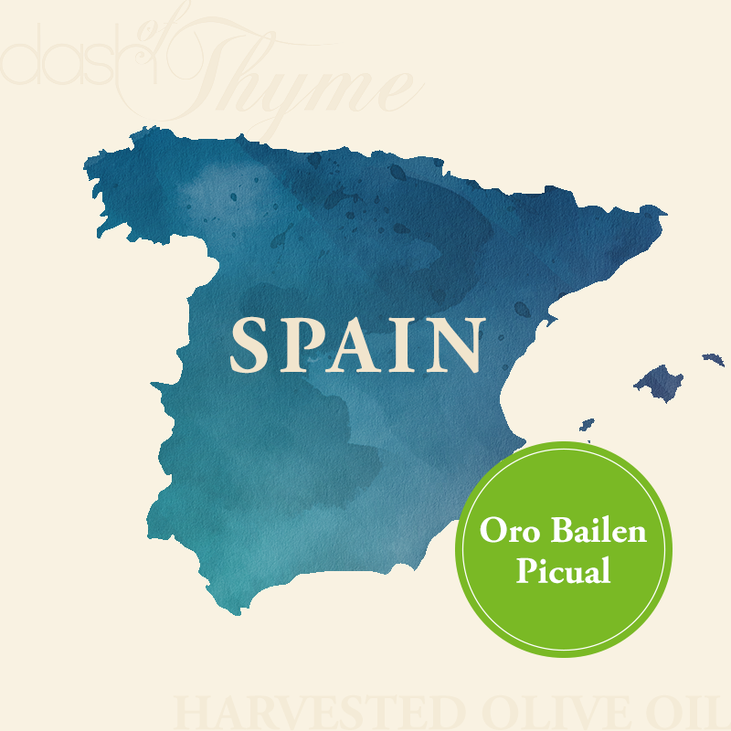 Dash of Thyme—Oro Bailen Picual Extra Virgin Olive Oil