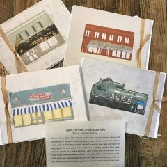 Denville Artist-Made postcards