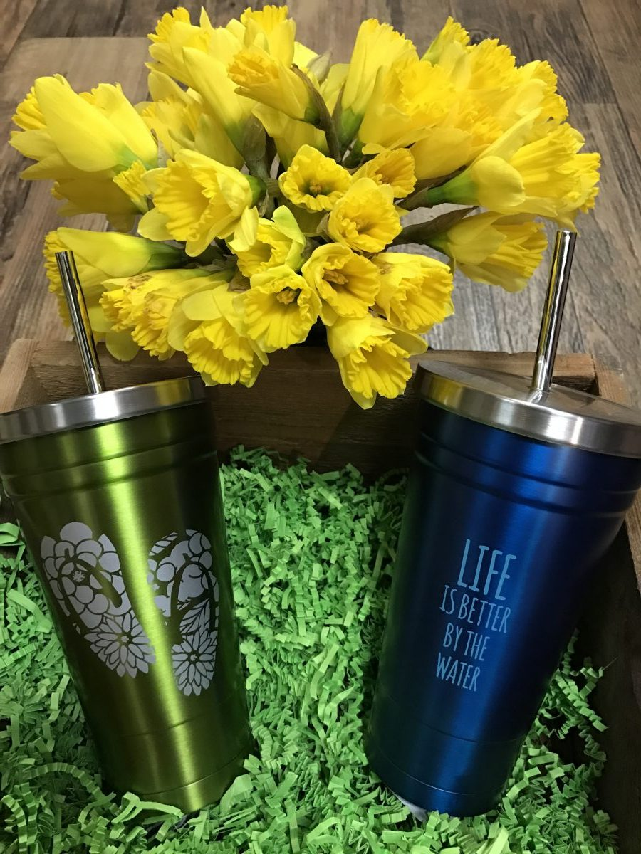 Metal Tumblers—Dash of Thyme Denville, NJ