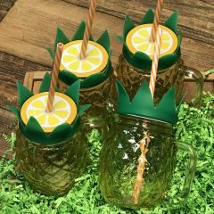 Set of Pineapple Tumblers