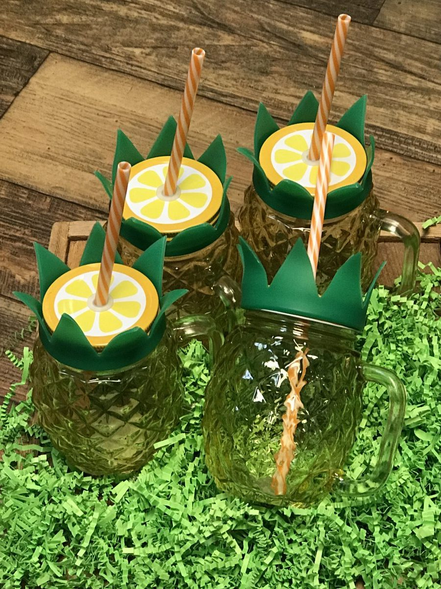 Set of Pineapple Tumblers—Dash of Thyme Denville, NJ