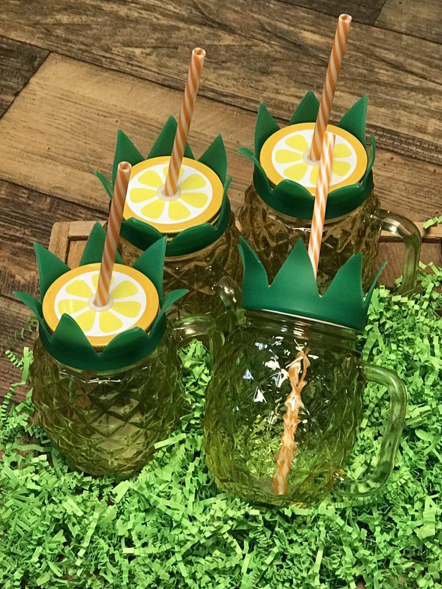 Set of Pineapple Tumblers—Dash of Thyme Denville, NJ