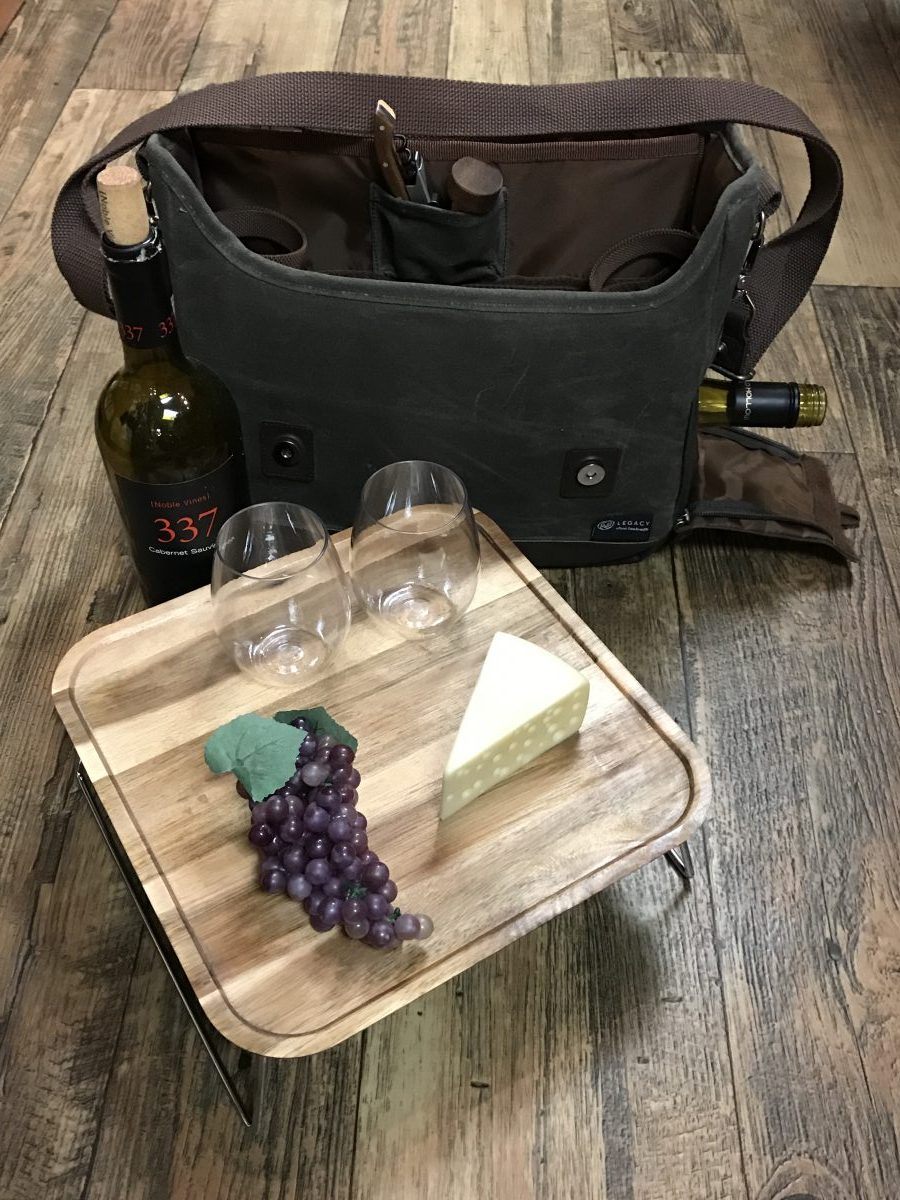 Adventure Wine Tote—Dash of Thyme Denville, NJ