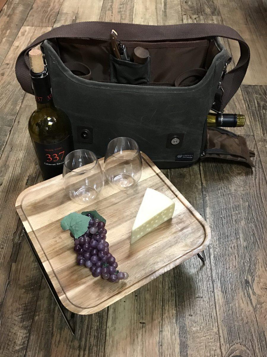 Adventure Wine Tote—Dash of Thyme Denville, NJ