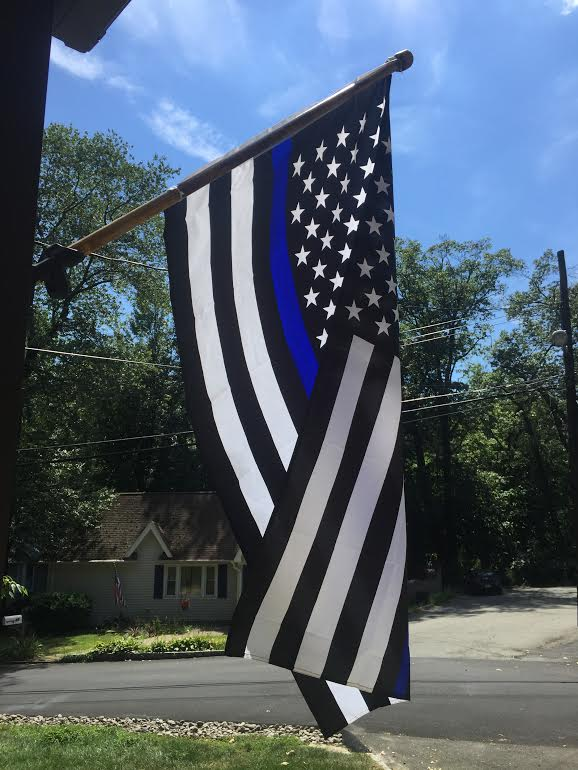 Police & Fire/EMT Pride Flags and Signs—Dash of Thyme Denville, NJ