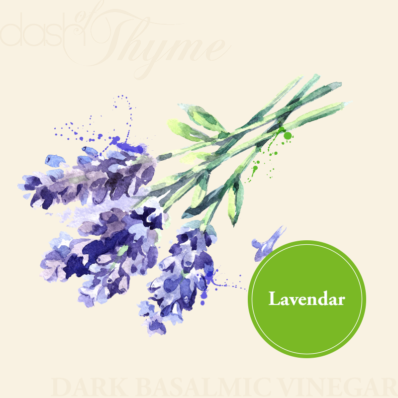 Lavendar Dark Balsamic Vinegar - Dash of Thyme Gourmet Foods and Gifts in Denville, NJ