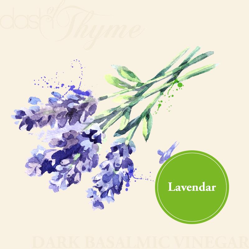 Lavendar Dark Balsamic Vinegar - Dash of Thyme Gourmet Foods and Gifts in Denville, NJ