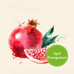 Pomegranate Balsamic Glazed Salmon