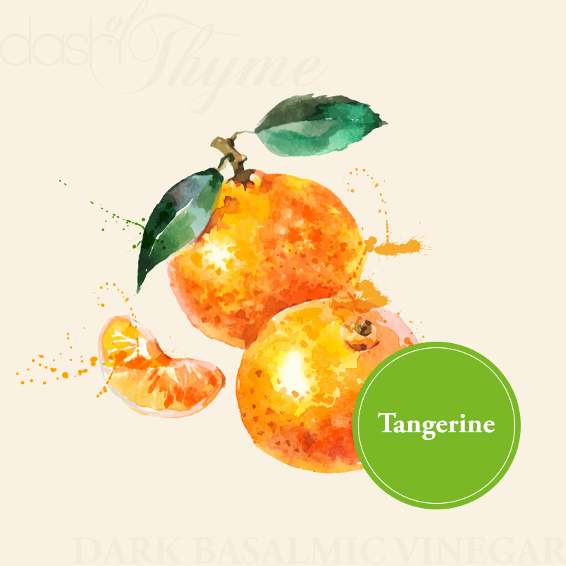 Tangerine Dark Balsamic Vinegar - Dash of Thyme Gourmet Foods and Gifts in Denville, NJ