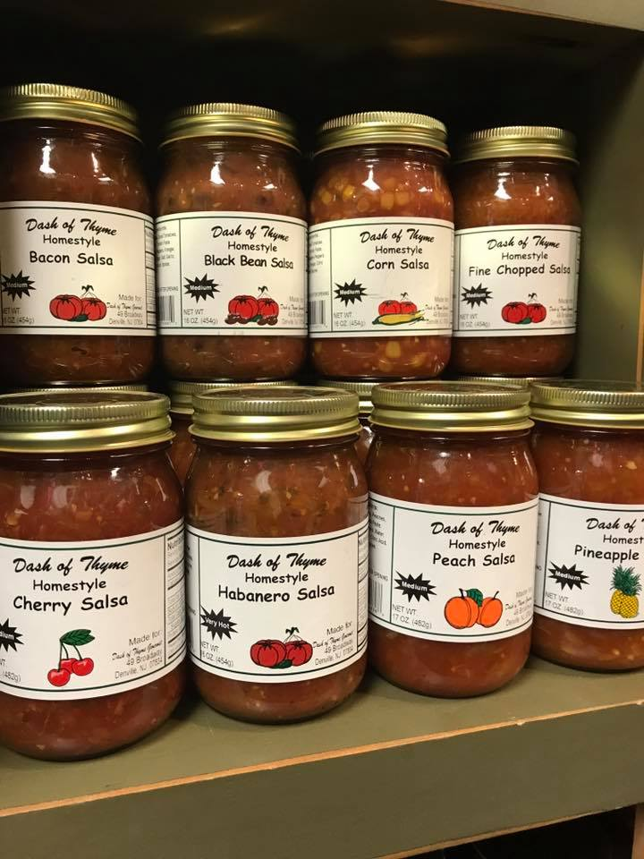 Salsas from Dash of Thyme in Denville, NJ